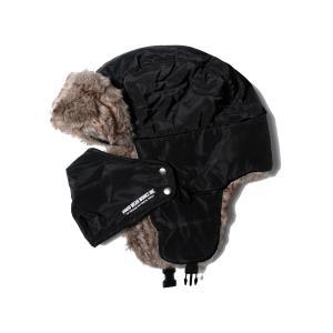 VIRGO SIBERIAN BOA CAP (ブラック)|slow-clothing