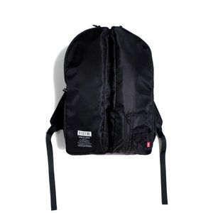 VIRGO STRIKINGS BACK PACK(ブラック)防水カバー付き|slow-clothing