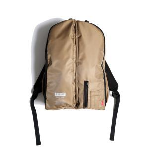 VIRGO STRIKINGS BACK PACK(KHAKI)防水カバー付き|slow-clothing