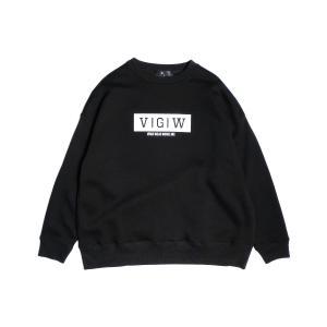 VIRGO  VGW BIG CREW(ブラック)|slow-clothing