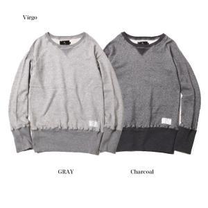 [50%OFF SALE ¥15,984→¥7,992] Virgo  Premium longrib sweat (2COLORS)|slow-clothing