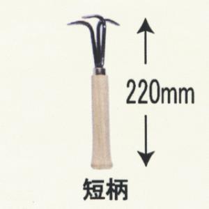 浅野木工所 テコでトール 短柄(マルチシート押さえはずし)|slow-dougu-net