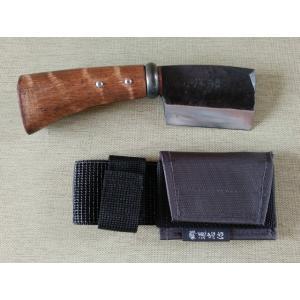 相田合同工場 郷道忠治 藤乃鉈 短刃2寸3分片刃 slow-dougu-net