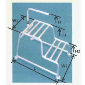 ミツル アルミ製 2段式もち手踏み台20cm+40cm|slow-dougu-net