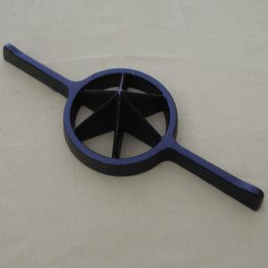 竹割6ツ割 中 鋳物製 slow-dougu-net