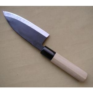 黒打 鯵切包丁 片刃250mm 日本製|slow-dougu-net