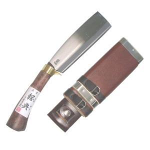 鋼典 鋼付 鍔付最高級鉈 165mm C-20 slow-dougu-net