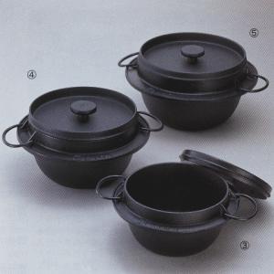 岩鋳 鋳鉄ごはん鍋 3合炊き 0554-0302