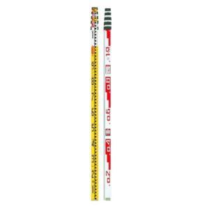 マイゾックス アルミスタッフ サンアルゴー・イエロー5m 5段 ALG-55Y 011005|slow-dougu-net