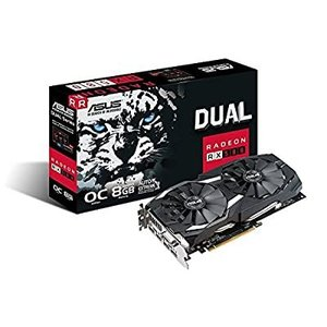 ASUS Radeon RX 580 8 GB GDDR5 PCI Express 3.0グラフィックカード - ブラック slow-lifes
