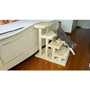猫 ステップ 猫用 階段 純木 犬階段 犬用 スロープ 階段 ペット用 猫の階段ペット階段 ペット用階段ステップ 猫 犬用階段 ソファ 階段 猫 階段|slow-lifes
