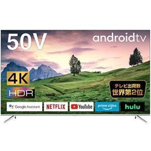 TCL 50V型 4K対応 液晶テレビ スマートテレビ(Android TV) 50P715 ネット動画サービス対応 Dolby Audio 2020年モデル|slow-lifes