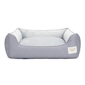 ペットベッド ペットソファ 猫用 犬用ベッド 寝床 通年タイプ リバーシブルクッション付き カバー取り外し可?|slow-lifes
