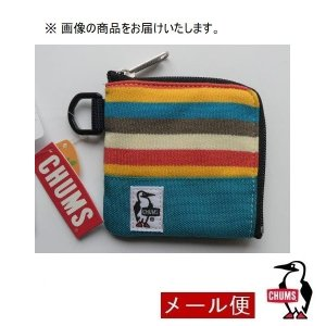 チャムス 財布 CHUMS Square Coin Case Sweat Nylon CH60-26...