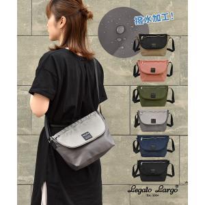 デイリースタイルに合わせて♪軽量×撥水タイプのメッセンジャーバッグ。 ・素材には撥水加工ポリエステル...