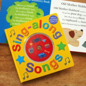 イギリス Priddy Books社 CD付きソングブック