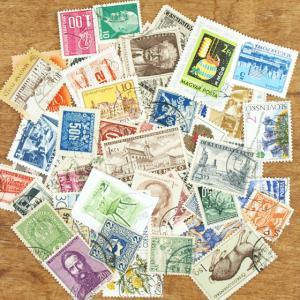チャルカ 世界の消印付き 切手 50枚 Charkha メール便対象品