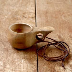 フィンランドの木製カップ Kuksa ククサ ミニ