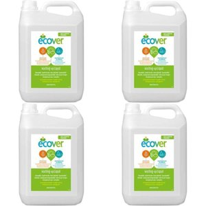 エコベール食器用洗剤レモン 5L 4個セット5412533001655 smafy