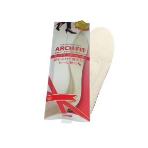 ARCH FIT アーチフィット インソール レディース ベージュ LL(25.0-25.5cm) ARCH FIT FOR BOOTS&PUMPS smafy