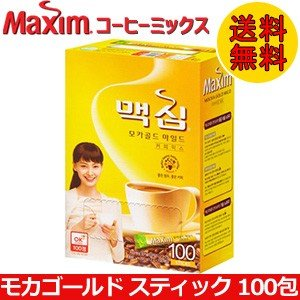 東西食品 Maxim マキシム モカゴールド コーヒーミックス スティック 100包 smafy