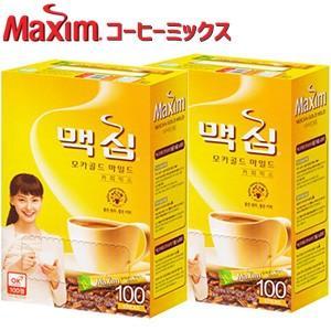 東西食品 Maxim マキシム モカゴールド コーヒーミックス スティック 200包 smafy