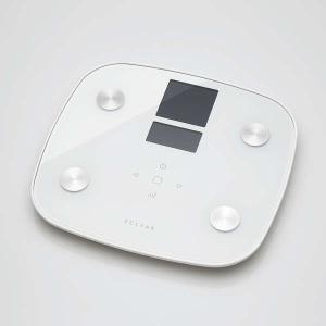 エレコム【HCS-FSG01WH】エクリア体組成計/FSG01シリーズ/ホワイト smafy