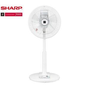 SHARP PJ-L3AS ホワイト系 [リビング扇風機 (リモコン付き)]|smafy