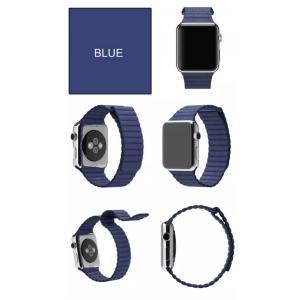 Apple Watch バンド レザーループ ...の詳細画像3