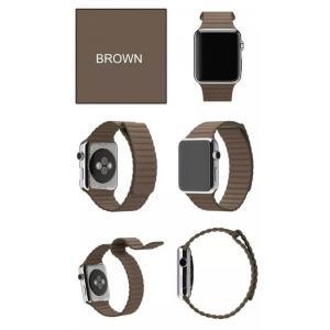 Apple Watch バンド レザーループ ...の詳細画像5