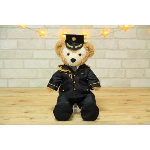ダッフィー 衣装 Sサイズ用ウェルカムドール、警察官儀礼服|small-h