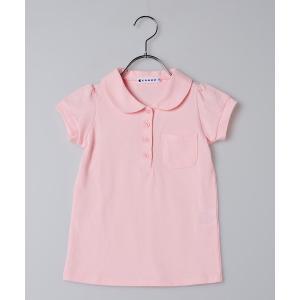 commu ガールズポロシャツ ピンク 女の子 95 100 110 120 130