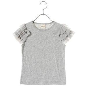 PiCNiC by mikihouse trade 【女児】チュールTシャツ グレー 女の子 80 ...