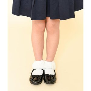 ORiental TRaffic 【Kids】バレエシューズ K-902 BLACK 女の子 15 ...