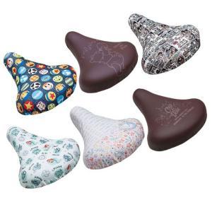 2個まで日本郵便配送 自転車サドルカバー ディズニー サドルカバー チャリCAP 自転車パーツ|smart-factory