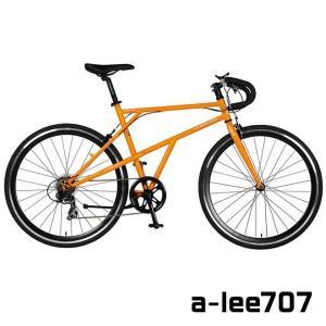 a.n.design works a-lee707 ロードバイク 700x25c 仏式 7段変速 スポーツ 自転車 通販 【送料無料】 ☆|smart-factory