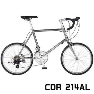 a.n.design works CDR214AL ミニベロ アルミ 仏式 7段変速 スポーツ 自転車 通販 【送料無料】 ☆|smart-factory