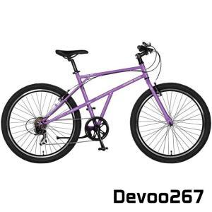 a.n.design works Devoo267 自転車 ファットタイヤ カリンバ 米式 外装7段ギア スポーツ 通販 アウトドア サイクリング メンズ レディース 【送料無料】 ☆|smart-factory
