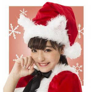 サンタ コスプレ クリスマス ねこみみサンタ帽子 パーティー イベント ホビー コスプレ・変装・仮装 レディース|smart-factory