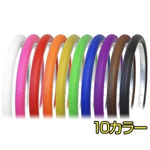 自転車 20インチ カラータイヤ DURO HF-160A SUNNY 20×1.75 HE ミニベロ 折りたたみ自転車|smart-factory