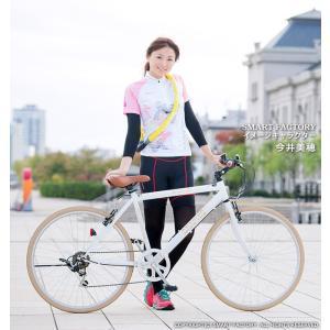 クロスバイク 26インチ 変速 シマノ製6段ギア 全11色 自転車 本体 GRAPHIS GR-001 グラフィス|smart-factory|15