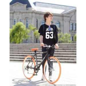 週末限定1000円クーポン 送料無料 クロスバイク 自転車 26インチ シマノ製6段ギア 全11色 自転車 カテゴリ シティ クロスバイク 自転車 おしゃれ 通販|smart-factory|16