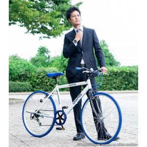 週末限定1000円クーポン 送料無料 クロスバイク 自転車 26インチ シマノ製6段ギア 全11色 自転車 カテゴリ シティ クロスバイク 自転車 おしゃれ 通販|smart-factory|18