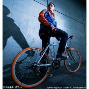週末限定1000円クーポン 送料無料 クロスバイク 自転車 26インチ シマノ製6段ギア 全11色 自転車 カテゴリ シティ クロスバイク 自転車 おしゃれ 通販|smart-factory|19