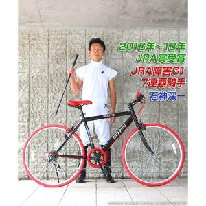 クロスバイク 26インチ 変速 シマノ製6段ギア 全11色 自転車 本体 GRAPHIS GR-001 グラフィス|smart-factory|10