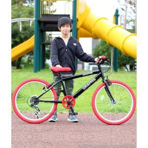子供用自転車 週末価格 20インチ シマノ6段ギア 全10色 クロスバイク スキュワー式 GRAPHIS|smart-factory|04