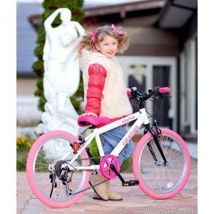 子供用自転車 週末価格 20インチ シマノ6段ギア 全10色 クロスバイク スキュワー式 GRAPHIS|smart-factory|10