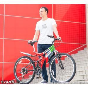 送料無料 マウンテンバイク 26インチ シマノ シマノ製18段ギア GRAPHIS グラフィス GR-005 (6色)  自転車 26インチ メンズ レディース 自転車 おしゃれ|smart-factory|15