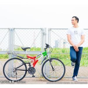 送料無料 マウンテンバイク 26インチ シマノ シマノ製18段ギア GRAPHIS グラフィス GR-005 (6色)  自転車 26インチ メンズ レディース 自転車 おしゃれ|smart-factory|16