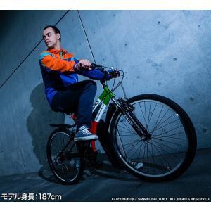 送料無料 マウンテンバイク 26インチ シマノ シマノ製18段ギア GRAPHIS グラフィス GR-005 (6色)  自転車 26インチ メンズ レディース 自転車 おしゃれ|smart-factory|17